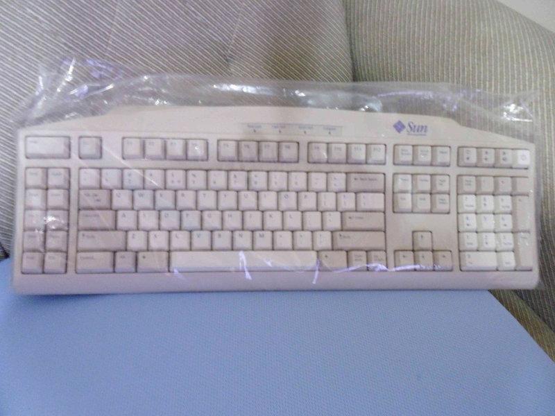 新品英文 Sun Type6 Din8 鍵盤 320-1270 370-3631 For Ultra5 30 60 - 露天拍賣