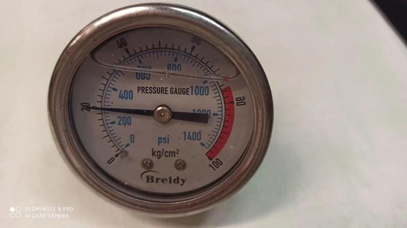 油壓錶 液壓表 100G 100GK 油壓表 空壓機 充油式 防震耐震表 壓力表 80KG 70kg 2分 pt   露天拍賣