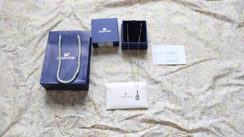 正品 Swarovski 施華洛世奇水晶項鍊 ~ 平價高質感 ~ 只求賣出 - 露天拍賣