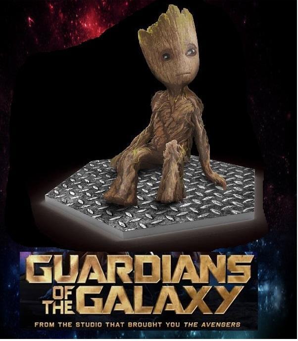 現貨 星際異攻隊2 小樹人 迷你格魯特 電影 預售 贈品 可超取.面交 - 露天拍賣