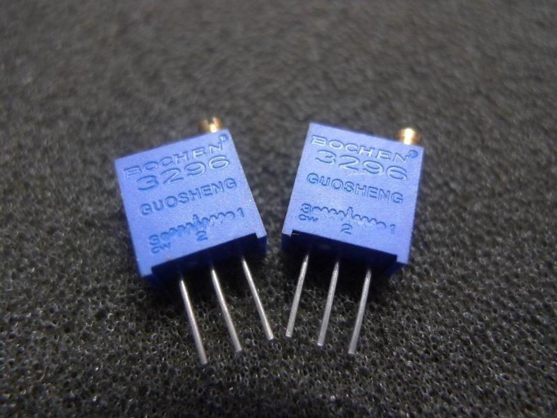3296 502 5K SVR方型上調 精密25轉 精密可變電阻 可調電阻 - 露天拍賣