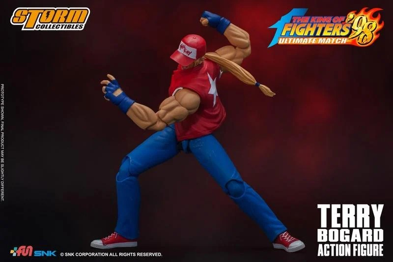 【高雄冠軍】現貨 Storm Toys KOF 98 格鬥天王 泰瑞 柏格 1/12 可動人偶 | 露天拍賣