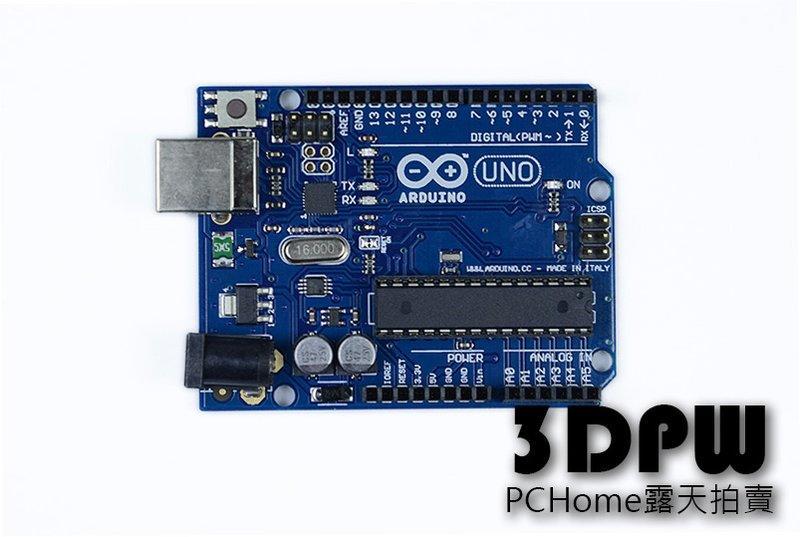 [3DPW] Arduino UNO R3 控制板 原廠正版晶片 非所謂相容版 含USB線 3D印表機 - 露天拍賣