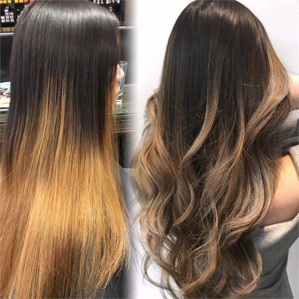 Тонировка волос: фото до и после, выбор средств, отзывы — RUXA