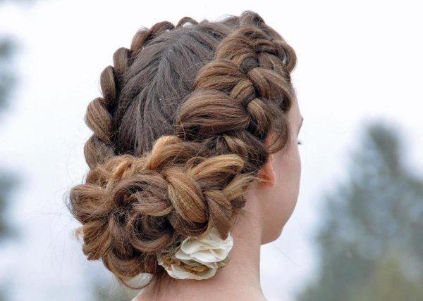 Прически с гофре на длинные волосы: фото с описанием — RUXA