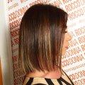 Tô màu Shatus cho tóc ngắn: Kỹ thuật cho tóc tối và sáng