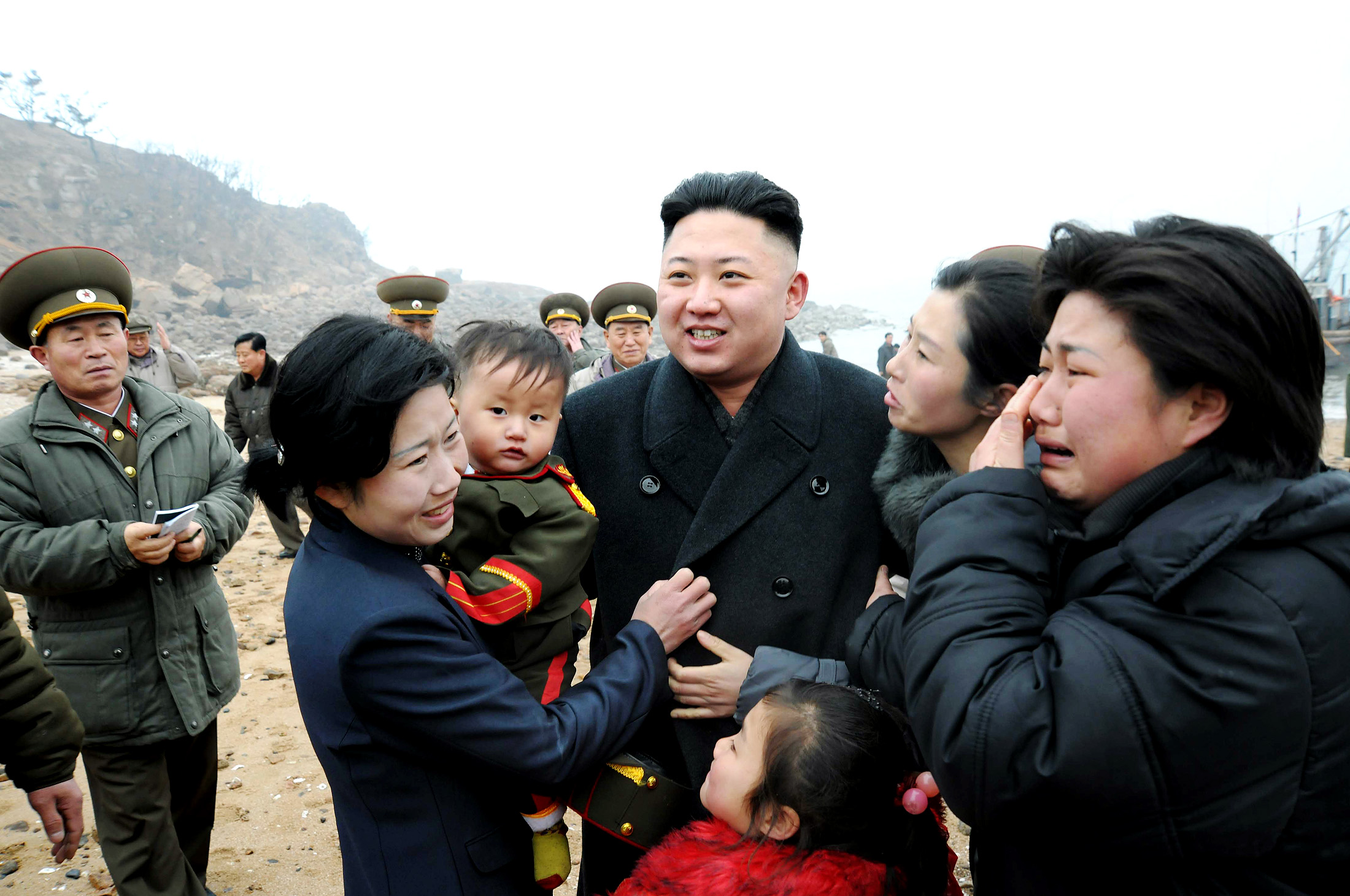 It is no secret that North Koreans adore their supreme leader and, interestingly, many of them seem to be of the opposite gender. Here is a look at him with some of his most ardent female fans