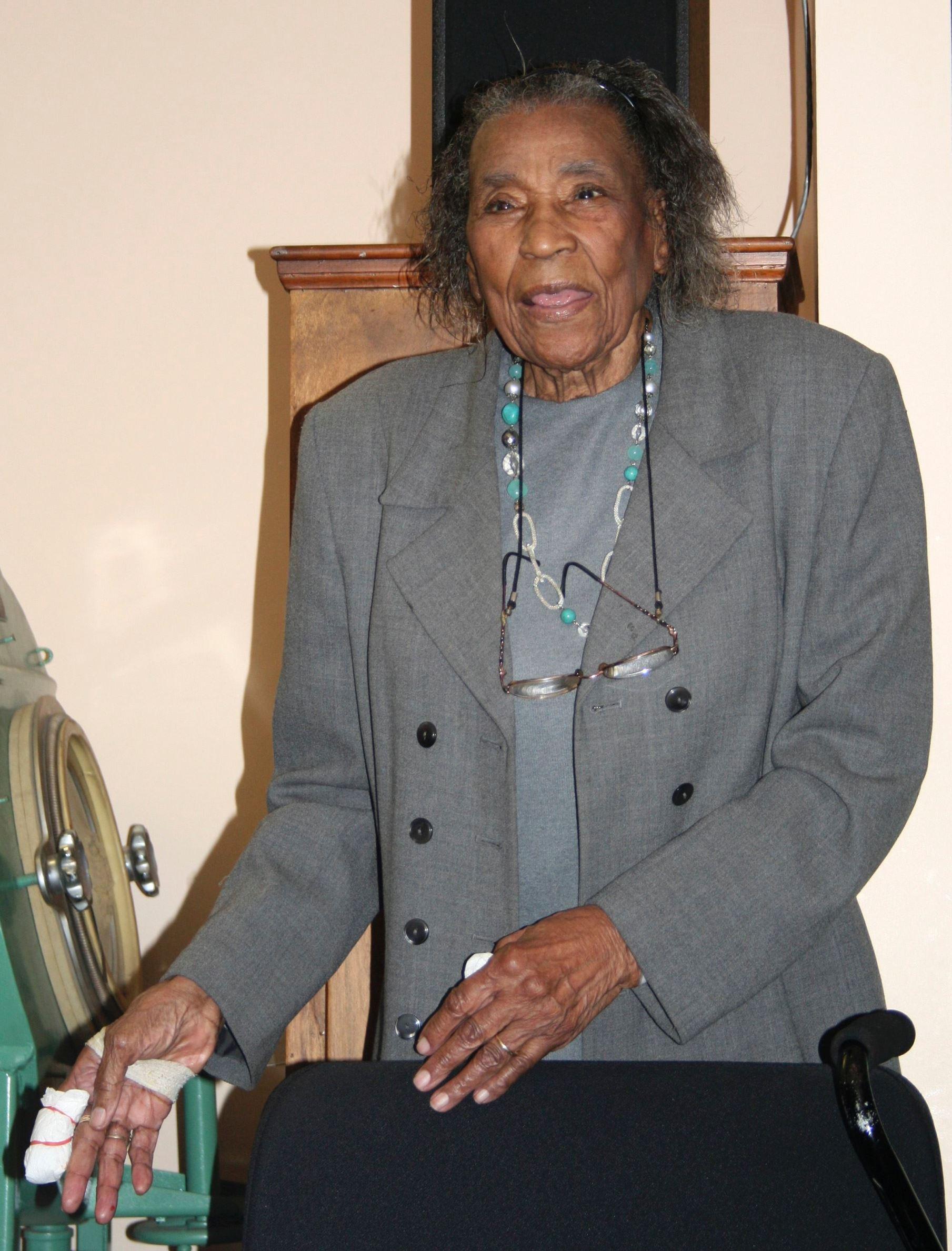 Amelia Boynton Robinson,