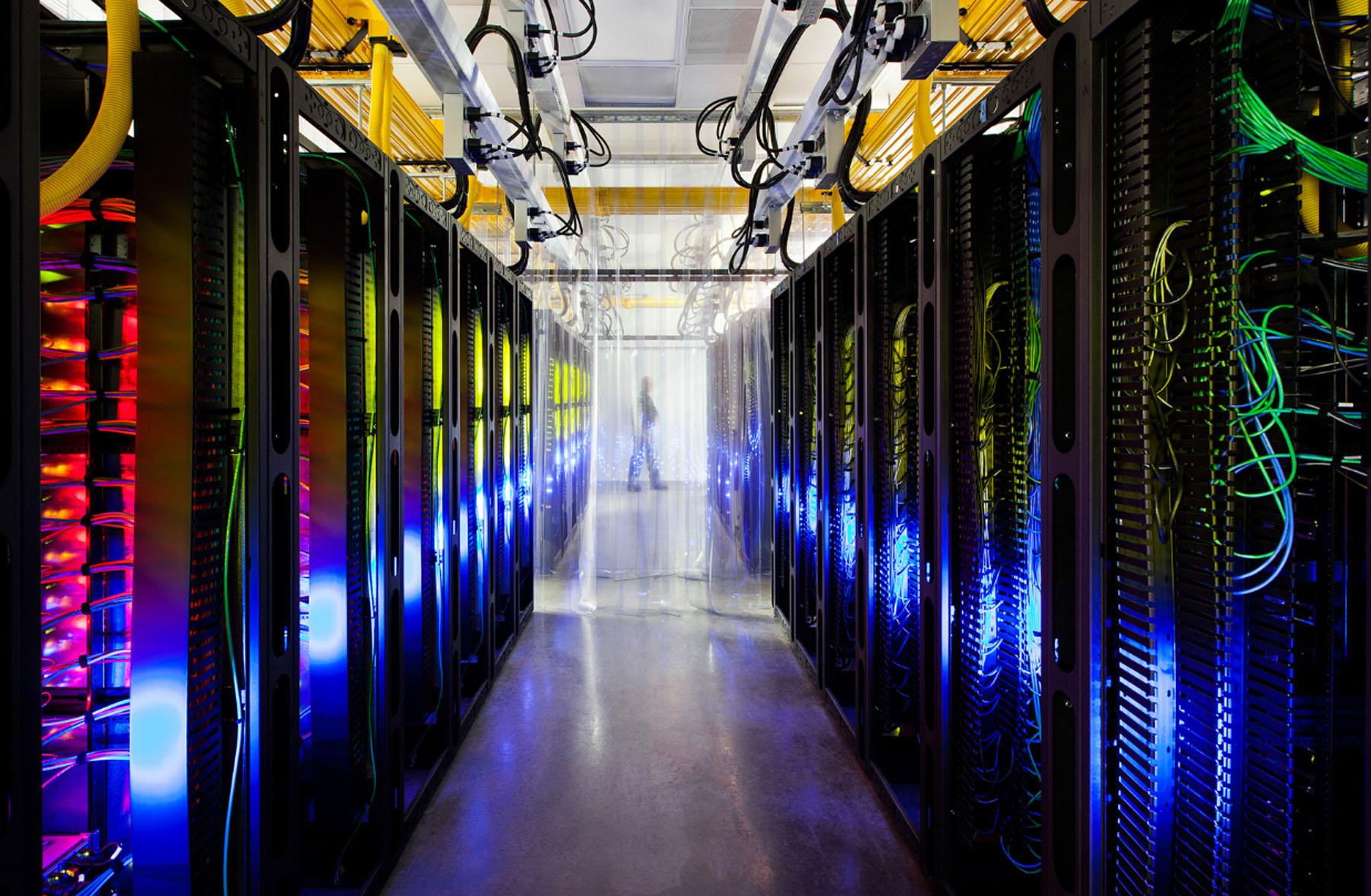 Centro de dados do Google em Iowa