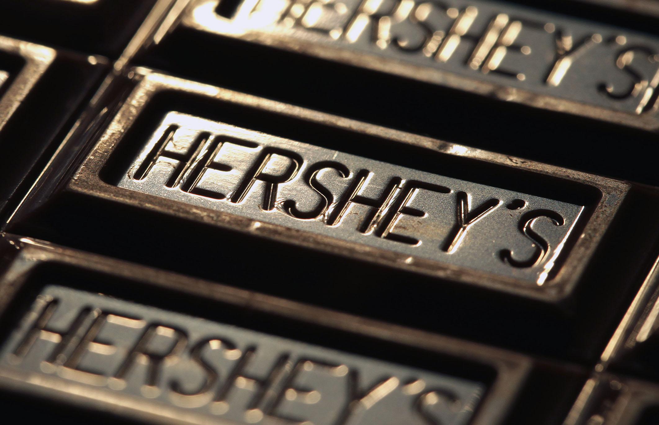Hershey's chocolate.