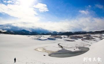 [鳥取] 絕景!初雪中的鳥取砂丘