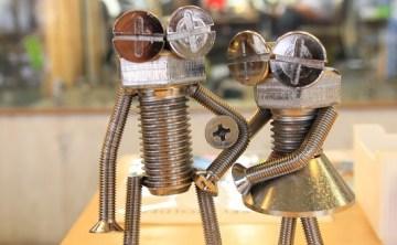 [北海道。室蘭] 螺絲人偶製作初體驗 @ボルタ工房