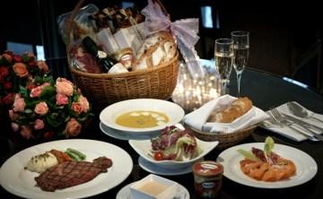 [台中] 永豐棧酒店風尚西餐廳 在家也能吃情人大餐 之 浪漫七夕晚餐提籃組