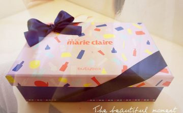 [保養]美麗佳人Marie Claire&Buty Box三月聯名體驗盒│保養品該換季囉~