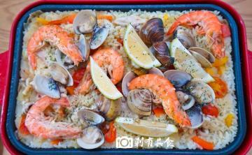 BRUNO食譜 | 西班牙海鮮飯 (無番紅花版) パエリア