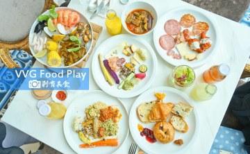 VVG Food Play | 台中國家歌劇院 在洞穴中吃法式自助餐 環境美氣氛佳超好拍 省錢小密技