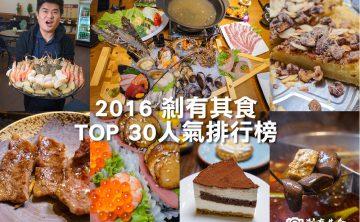 台中美食懶人包 | 剎有其食2016人氣文章排行榜 TOP30 (廣播檔)