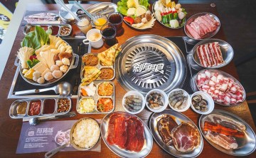 阿豬媽 韓國烤肉火鍋吃到飽 | 台中烤肉火鍋吃到飽 近40種食材無限供應 蛤蜊新鮮 (菜單)