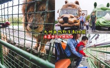 九州自然野生動物園   九州親子景點 坐叢林巴士餵食獅子好好玩!(叢林巴士線上預約方法/影片)