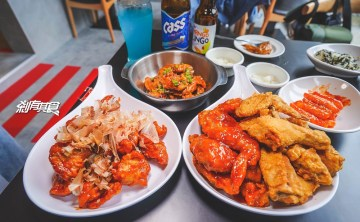 起家雞台中勤美店 | 台中草悟道美食 超過30年的韓國炸雞龍頭連鎖品牌你的吃雞好朋友