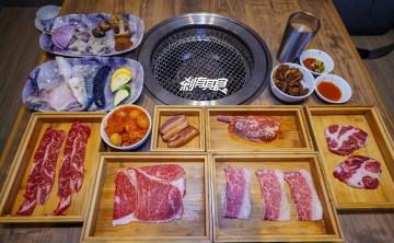 本格和牛燒肉放題   台中燒肉推薦 燒肉吃到飽588元起 60種食材自助吧+20款冰淇淋吃到飽(點餐攻略/菜單)
