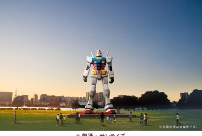 [東京]ガンダム、台場に立つ!鋼彈、立於台場!