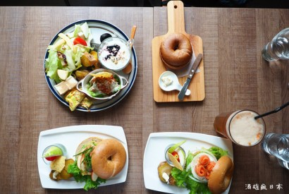 模範貝果-台中西區老屋改建純手作安心餐廳
