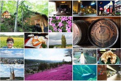 [日本自駕心得]北海道瀧上芝櫻與余市威士忌自駕之旅@天氣超好,花況超美,螃蟹吃到怕的旅程!