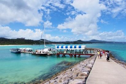 [沖繩]布聖納海中公園-玻璃船、海中瞭望台賞海底熱帶魚