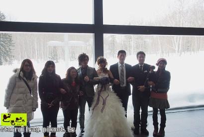 [心得]2013冬北海道水之教堂婚禮奇幻旅程,驚險歸來!