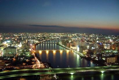 [新潟]高處一覽新潟風光、夜景絕美的『朱鷺展望台』