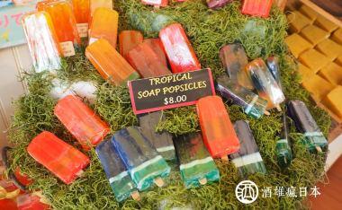 【夏威夷】歐胡島北岸自駕02-Bubble Shack Hawaii-甜點?冰棒?其實都是有機手工皂