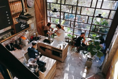 為什麼右舍咖啡只在員林不在我家附近?