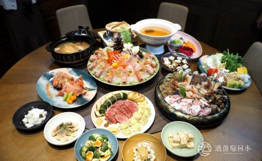 万作酒樂食彩日本料理- 每日鮮魚創作無菜單套餐、單點桌菜樣樣有