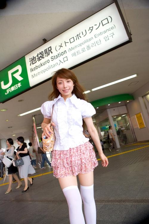 【三次】ニーソ履いてる女の子の太ももエロ画像part3・3枚目