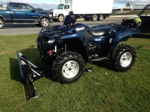 Suzuki King Quad 500 4x4 With Snow Plow Motorcycles for sale