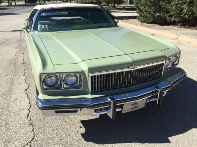Chevrolet Caprice convertible cars for sale 1975 Chevrolet Caprice Convertible   1975 CHEVY CAPRICE CLASSIC CONVERTIBLE    ORIGINAL   ONLY 33K MILES