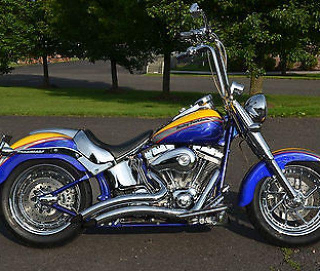 Harley Davidson Softail Cvo Harley Screamin Screaming Eagle Softail Fatboy Fat Boy Flstfse