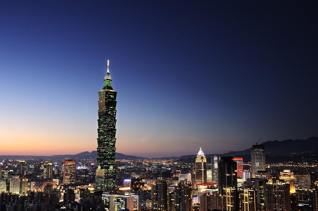 臺北101夜景 Taipei 101 Nightview 象山 - Sinchen 3C部落格