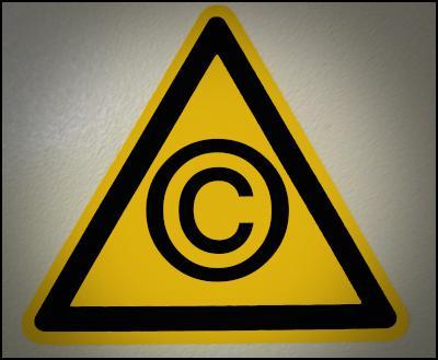 copyright, copywrong, warning