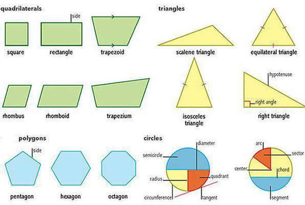 Polygons Triangles Quadrilaterals Identiy
