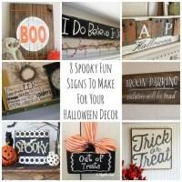 halloween signs to make