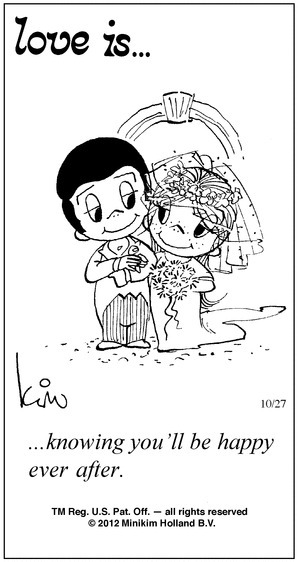 Love Is By Kim Casali Conceived By And Draw