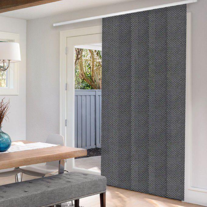 panneaux coulissants de luxe en toile solaire 5