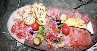 台中微醺餐廳 Matches 歐風創意料理 開胃伊比利臘腸 美味墨魚燉飯 佐以百年經典牽牛花費茲