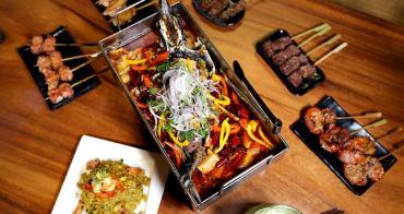 台中串燒店 連紅樓夢也吃的到 主打原味食材新鮮 店小二串燒有創意