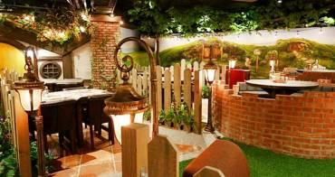 台中 | 夏爾綠園道店 美式童話風餐廳 是七矮人還是哈比人的家?特色餐廳全新開幕
