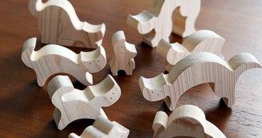 貓物 | 隼工坊的木頭疊疊貓 手法質樸好療癒