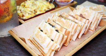 台南 | T&F手作吐司  創意熱壓吐司 鹹甜口味超級多 正餐宵夜的新選擇