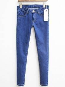 Blue Slim Denim Pant